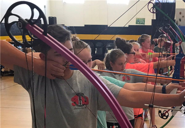 Image of East Elementary Archery Team