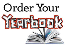 image with text saying order your yearbook