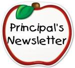 This is an image that says Principal's newsletter.