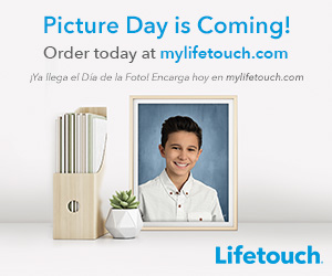 Lifetouch picture day banner