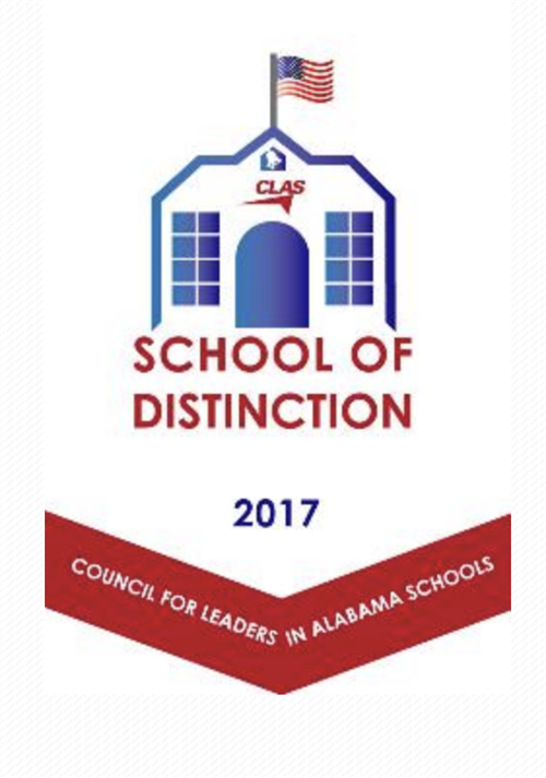 CLAS School of Distinction logo