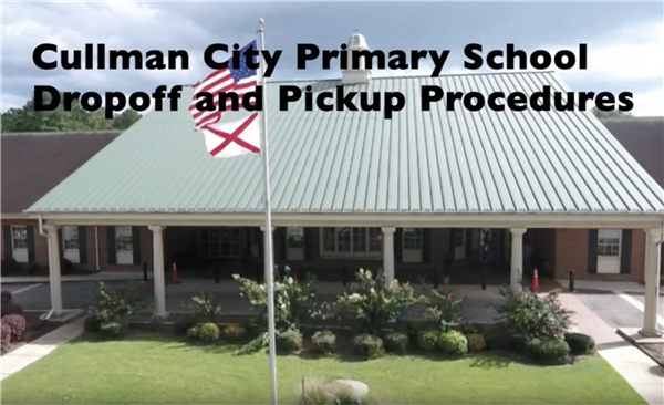 video title and front entrance of CCPS