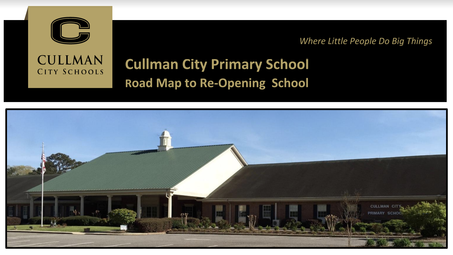 click here to view the CCPS road map to re-opening school plan