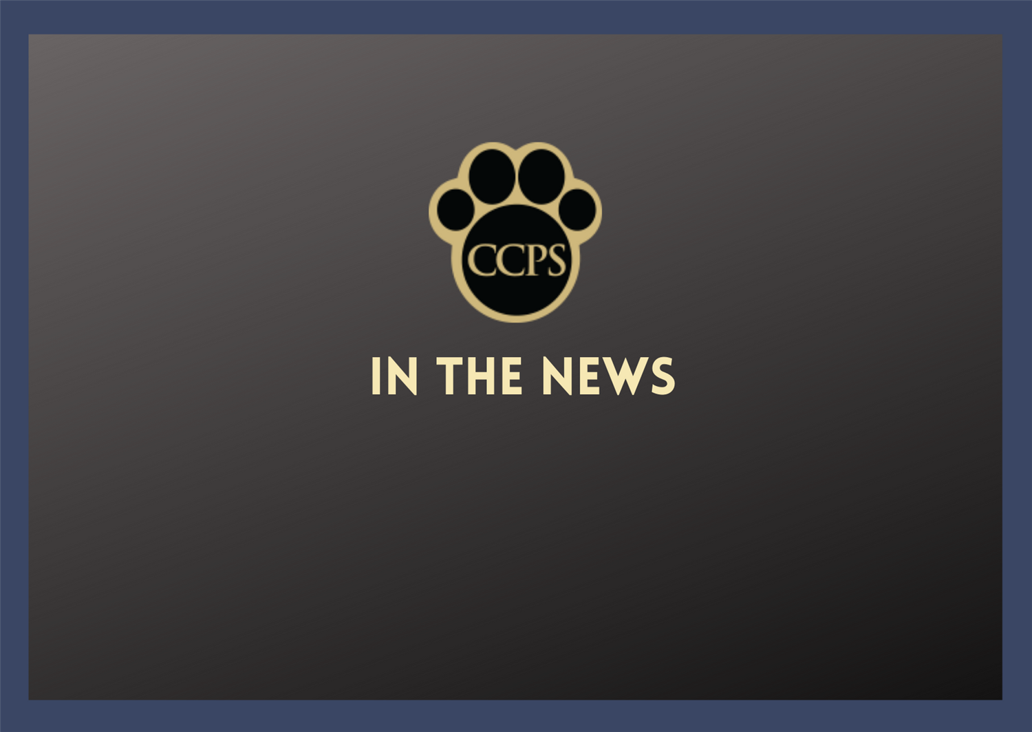 ccps logo and title in the news