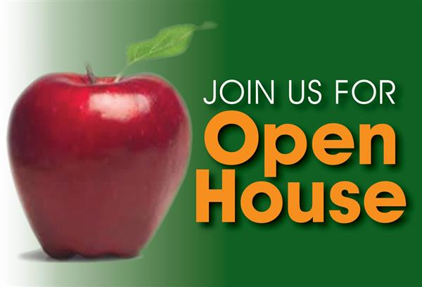 Invitation for CCPS Open House Aug 4th at 4:00 for Kindergarten and 5:00 for 1st Grade