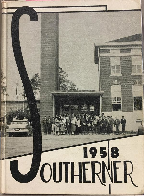 1958 Cullman Yearbook cover