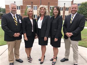 CHS Admins with Dr. Patterson