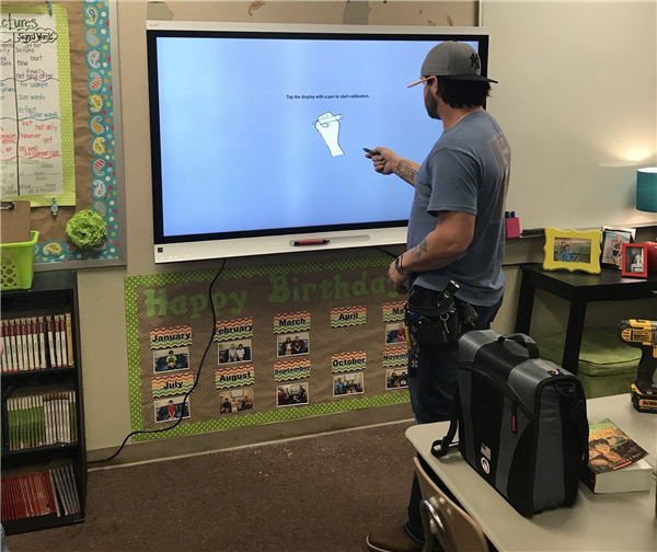 SMART Interactive Panels Installed