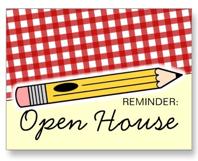 Reminder: Open House Image