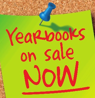 Yearbooks on sale now image